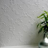 Brewster 437-RD0137 Alfred Paintable Supaglypta Wallpaper - N/A