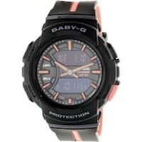 9a4f0d15f Shop Casio Baby-G Mini GA110 Series Women's Sports Watch (Black/Pink ...