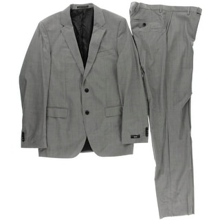BOSS Hugo Boss Mens The James5/Sharp7 Wool 2PC Two-Button Suit - 40L