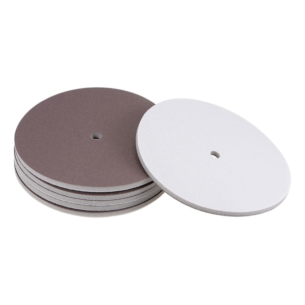 240 Grit Aluminum Oxide White Dry No Holes Hook and Loop Sanding Discs for 2 Sanding Pads 50mm 100-Pack 2 Inch