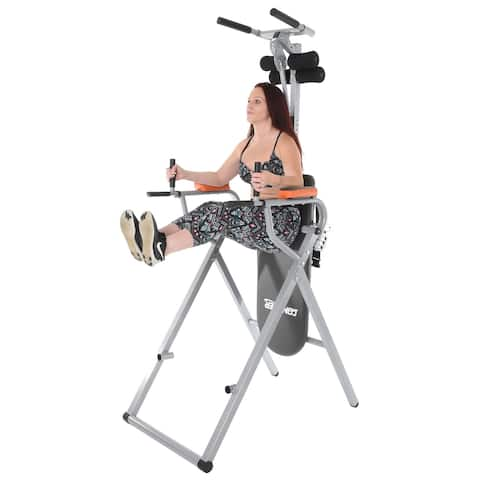 Conquer 6-in-1 Inversion Table Power Tower Home Gym 2.0