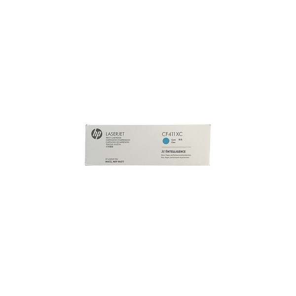 HP 410X LaserJet Toner Cartridge - Cyan (Single Pack) LaserJet Toner Cartridge