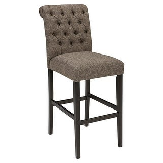 Link to Ashley Linen Finish Tall UPH Barstool 2 Pack Similar Items in Dining Room & Bar Furniture