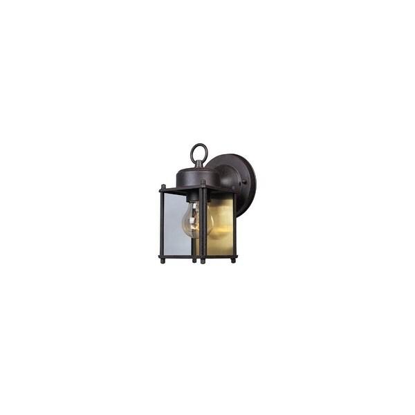 "Designers Fountain 1161-RP 1-Light 4.75"" Wall Lantern - rust patina - n/a"