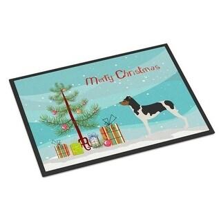 Carolines Treasures BB8477JMAT Brazilian Terrier Christmas Indoor or Outdoor Mat 24 x 36 in.