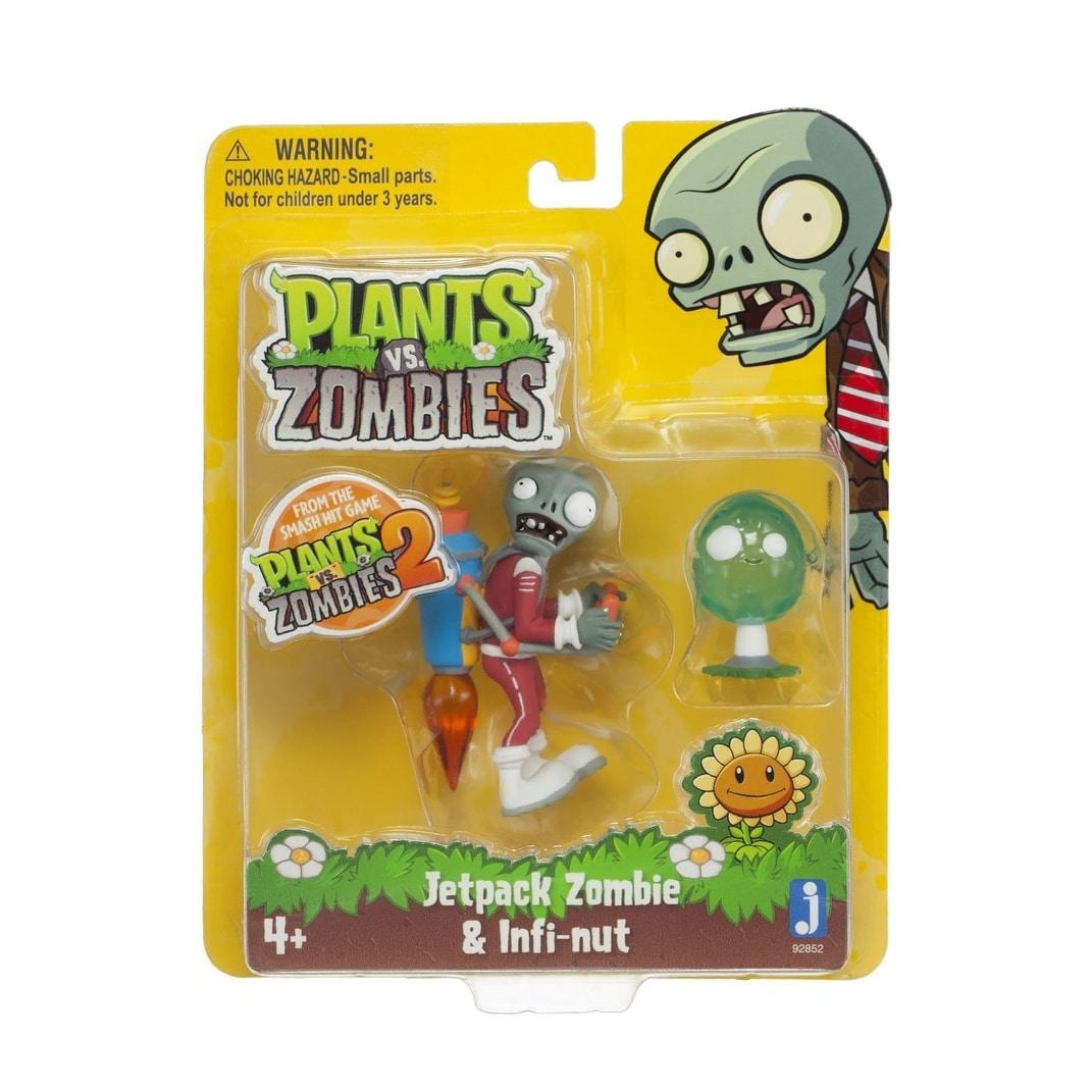 Plantes vs Zombies 3 in environ 7.62 cm Set FigureJetpack Zombie /& infinutEndommagé Pack