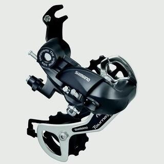 Shimano Cycling TX-35 Rear Derailleur with Bracket Mount - 587631 - Black/silver