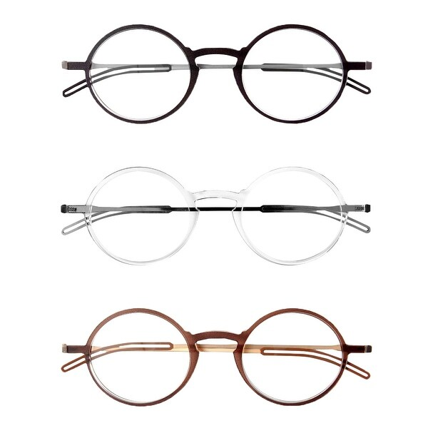 4bab1406fd6 Shop ThinOptics Front-Page Manhattan Reading Glasses with Milano ...