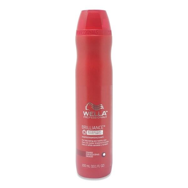 Wella Brilliance Shampoo for Course Hair 10.1 Oz
