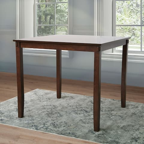 Abbyson Damian Solid Wood Counter Height Dining Table