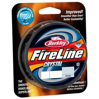 Berkley FireLine Fused Crystal Fishing Line (300 yds) - 10 lb Test - 10 lb. Test