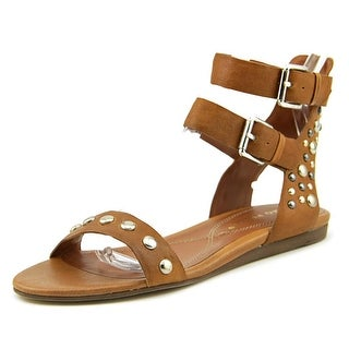Bruno Premi X2706X Women  Open Toe Leather Brown Gladiator Sandal