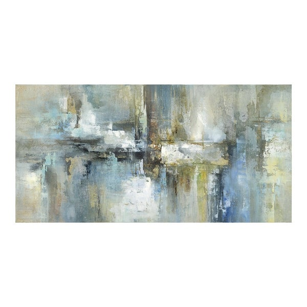 Aurelle Home Modern Abstract Canvas Painting Wall Decor. Opens flyout.