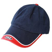 USA National Hook & Loop Logo Hat - Navy