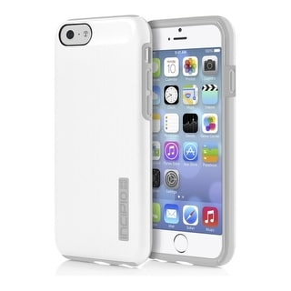 Incipio DualPro Shine Case Cover for Apple iPhone 6 (White/Gray)