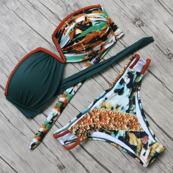 d64d10fff8 Shop hot Bikinis Women Set Summer Style Beach Bathing Suits Push Up Bandage  Swimwear Women Brazilian Swimsuits Biquini Feminino 2017 - Free Shipping On  ...
