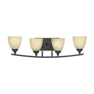 Designers Fountain 82904 4 Light Bathroom / Vanity Fixture from the Tackwood Collection