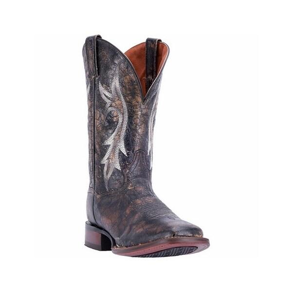 Dan Post Western Boots Mens Junction Broad Square Toe Black