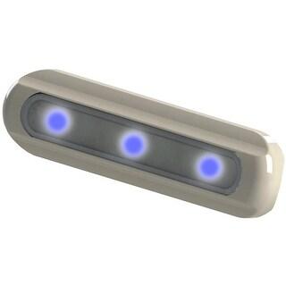 Taco Deck Light Blue LED Flat Mount - F38-8500B-1
