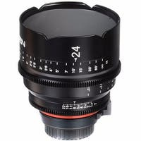 Rokinon Xeen 24mm T1.5 Lens for Canon EF Mount - Black
