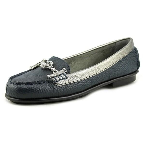 Aerosoles Nuwlywed Women Round Toe Leather Blue Loafer
