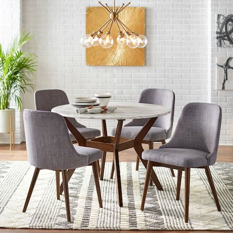 Carson Carrington Tornio 5-piece Round Dining Set