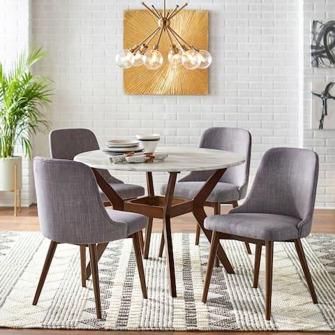 Carson Carrington Tornio 5-piece Round Dining Set