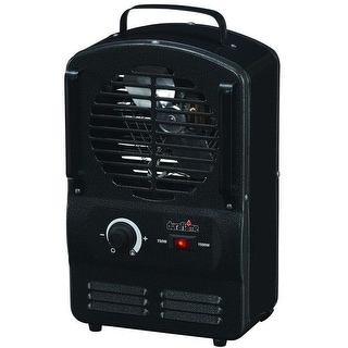 "Duraflame DFH-UH-5-T Utility Fan Forced Heater, 14"", Black"