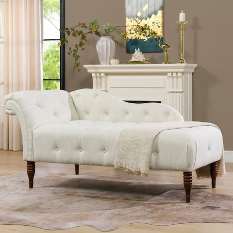 Gracewood Hollow Torrealba Tufted Right Arm Facing Chaise Lounge