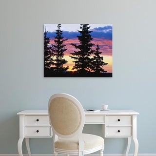 Easy Art Prints Scott T. Smith's 'Wyoming Sierra Madre' Premium Canvas Art