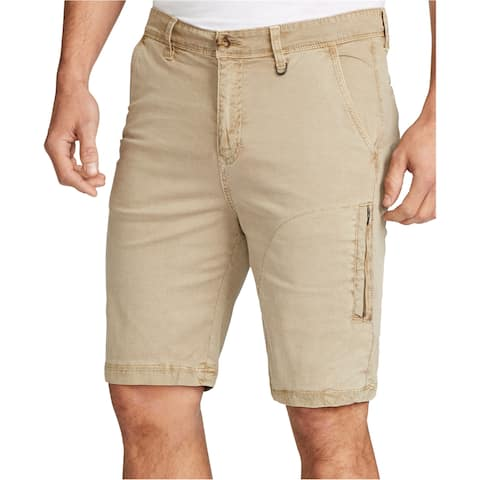 William Rast Mens Blaine Slim Casual Chino Shorts