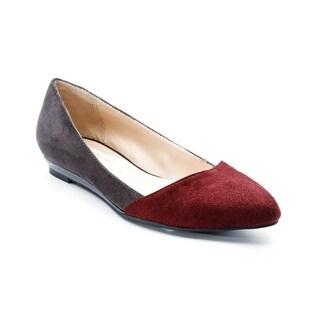 Andrew Geller Ruzena Women's Flats & Oxfords Dk Grey/Chianti