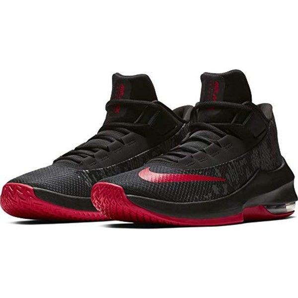 Mid Basketball Shoe Black