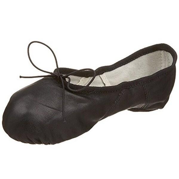 Capezio Womens Juliet Ii Ballet Shoe, Blk, 6.5