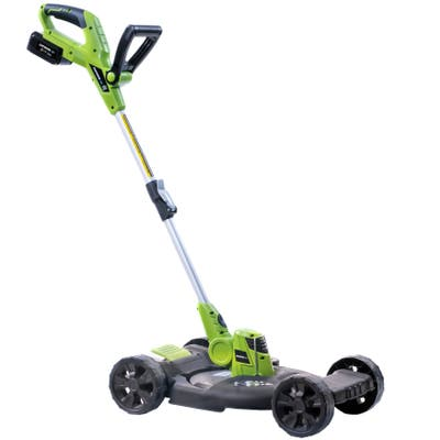 Earthwise LSTM2012-4 20-Volt 12-Inch 2-in-1 Cordless String Trimmer/Mower