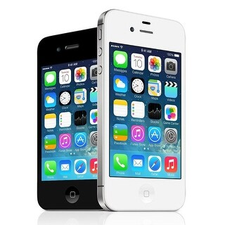 Apple iPhone 4S 8GB Factory Unlocked GSM Cell Phone w/ Siri & iCloud (Refurbished)