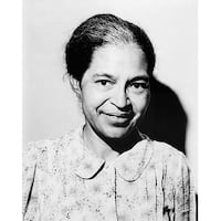 ''Rosa Parks, 1964'' by McMahan Photo Archive African American Art Print (10 x 8 in.)