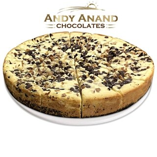 "Link to Andy Anand Turtle Cheesecake 9"" with Chocolate Chip, Nuts & Caramel (2 lbs) Similar Items in Gourmet Food Baskets"