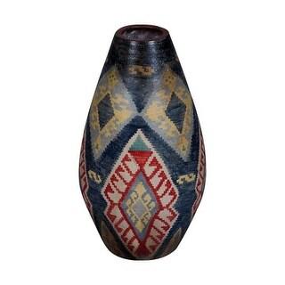 GuildMaster 203504 22 Inch Tall Terra Cotta Vase