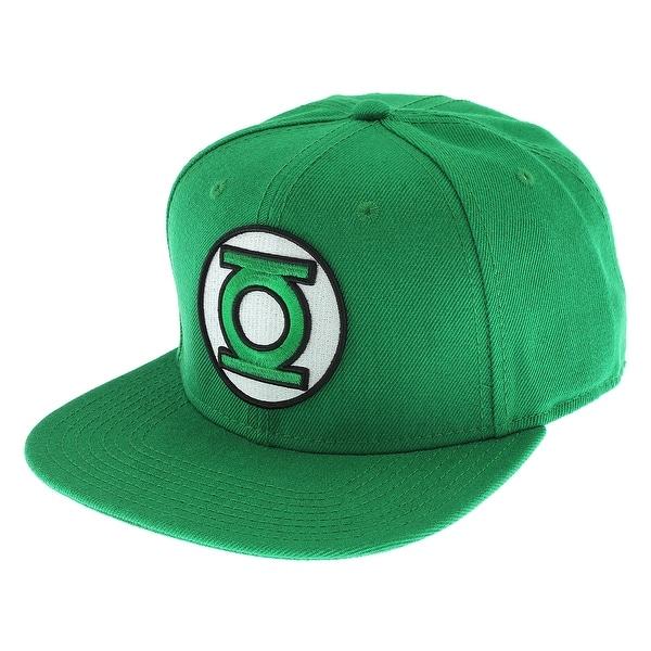 c84db1cef84fa ... italy dc comics green lantern classic embroidered logo snapback cap hat  4bff2 af82e ...