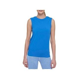 Tommy Hilfiger Sport Womens T-Shirt Jersey Sleeveless