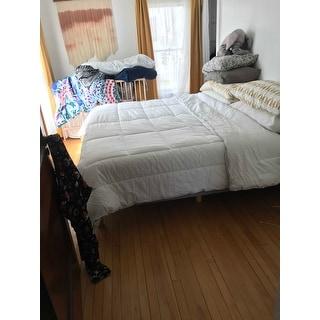 Under The Canopy Eco Pure® Organic Cotton White Comforter