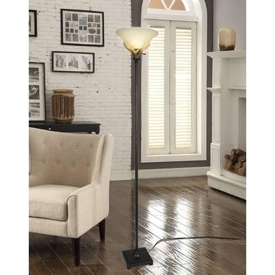 Mossy Oak Antler Torchiere Floor Lamp