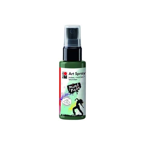 12099005041 marabu mixed media art spray 1 7oz khaki