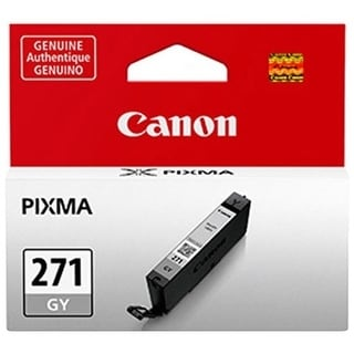 Canon 0394C001AA Canon CLI-271GY Ink Cartridge - Gray - Inkjet - Standard Yield - 1 / Pack