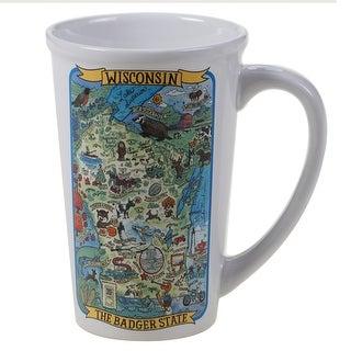 Link to Certified International Wisconsin Souvenir Jumbo Mugs (Set of 6) Similar Items in Dinnerware