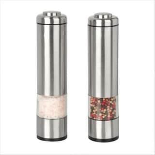 Kalorik PPG-26914 Electric Salt and Pepper Grinder Set - STAINLESS STEEL