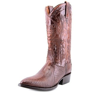 Dan Post Durham Men Pointed Toe Leather Brown Western Boot