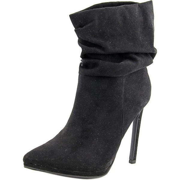 Famous Name Brand Franco Women Black Boots