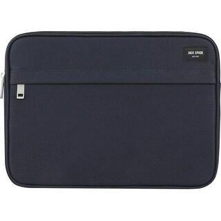 "Jack Spade New York Tablet/Laptop Sleeve Case for 13"" Laptops - Navy - grey"